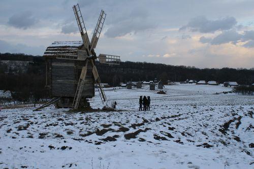 Moulin neige